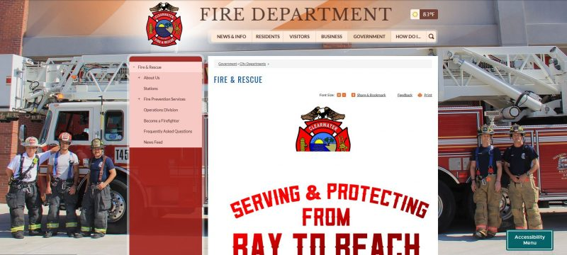 Clearwater Fire Administration