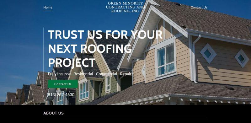 Green Minority Contracting & Roofing
