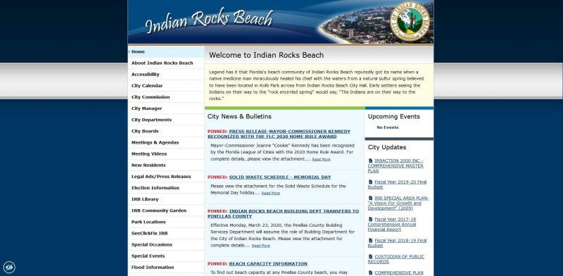 City of Indian Rocks Beach