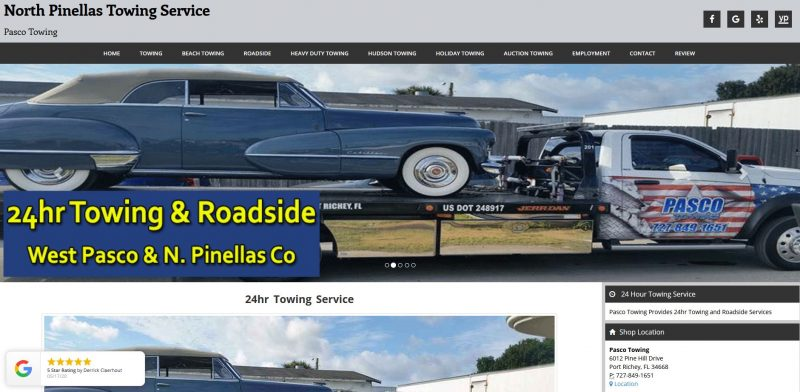 Pasco Towing Inc.