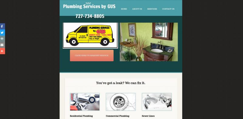 Plumbing Services by Gus