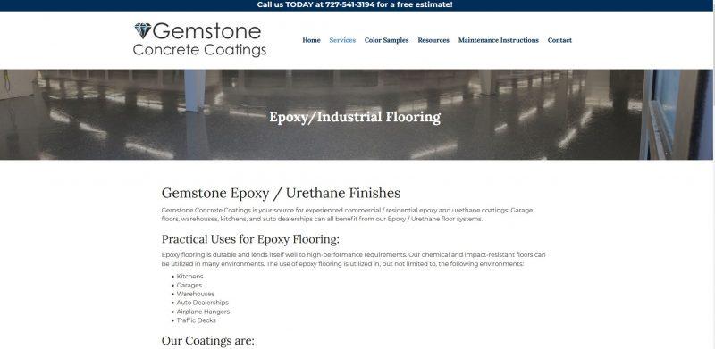 Gemstone Epoxy Coatings