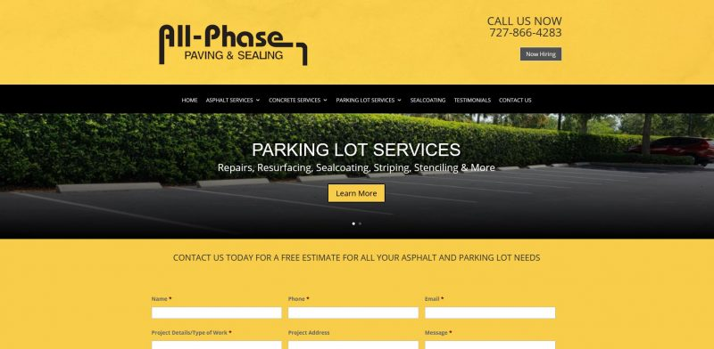 All Phase Paving & Sealing