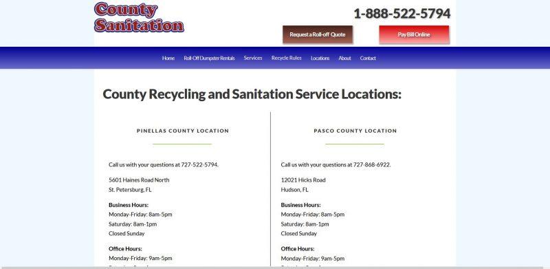 County Sanitation