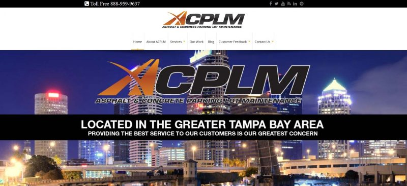 ACPLM – Asphalt & Concrete Parking Lot Maintenance