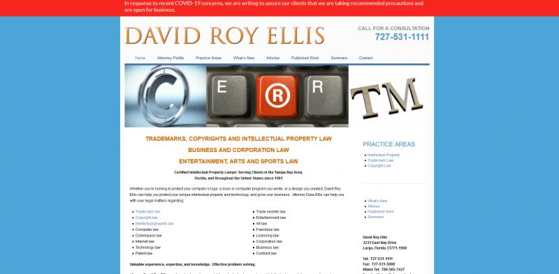 Attorney David R. Ellis