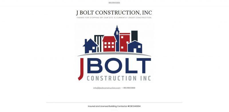 J BOLT Construction Inc.