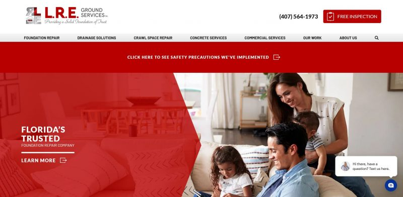 L. R. E. Ground Services, Inc.