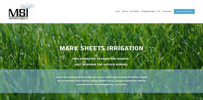 Mark Sheets Irrigation LLC