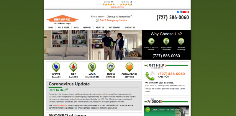 Servpro of Largo/Seminole