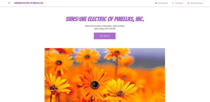 Sunshine Electric of Pinellas
