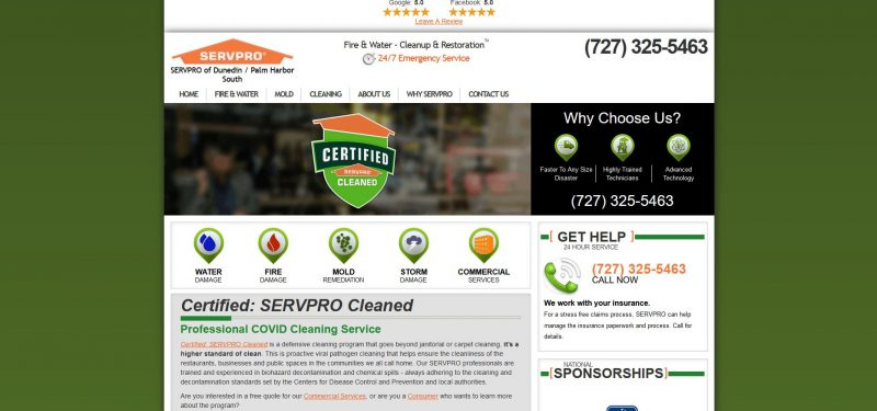 Servpro of Dunedin/Palm Harbor South