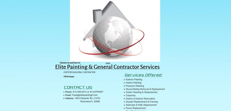 Elite Painting & General Contractor Services