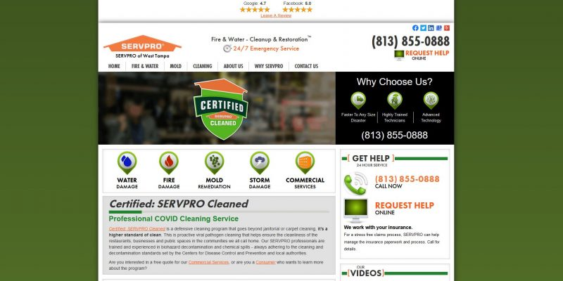 Servpro of Tarpon / West Tampa