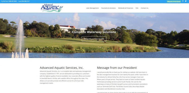 Advanced Aquatic Services