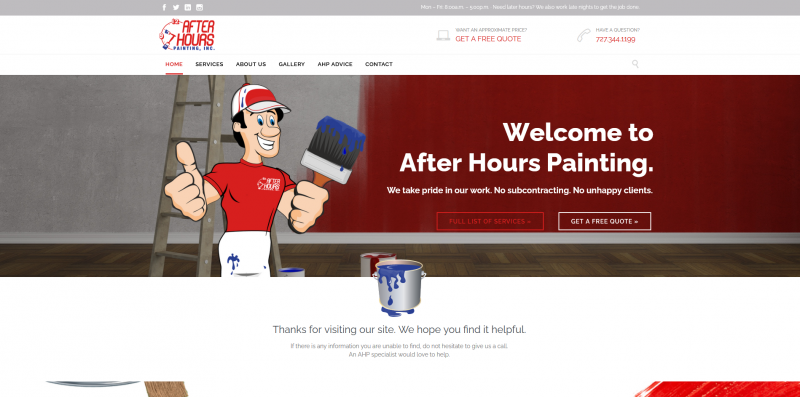 After Hours Painting, Inc.